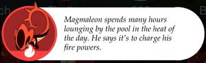 Magmaleon bio