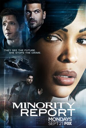 Minority Report Season 1 poster
