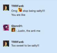 Too sweet ty Trent