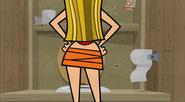 Lindsay's butt