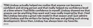 RBW on TDA Lindsay