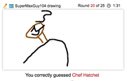 Draw It Chef Hatchet