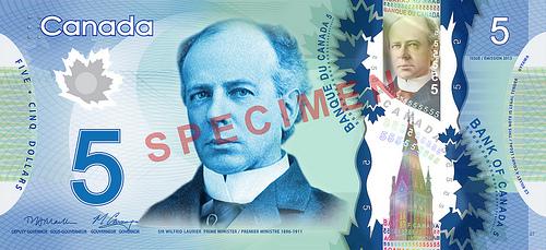 File:Canadian $5 note specimen - face.jpg