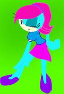 Sonic FEMALE base by BrookeLynne Bat 12