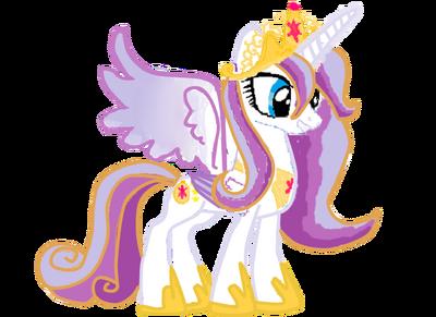Princesa Twilight Time Vector