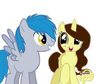 Happy ponies Akira