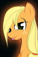 Applejack howdy there iphone4 by jbutler1983-d48mmgl