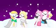 Navidad de ocs amigos