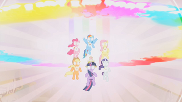 Main ponies Elements Fully Activated 1 S02E02