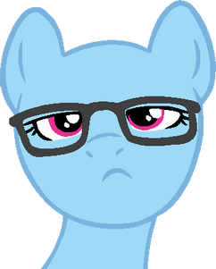 Mlp base hipster pony by softybases-d5u6c45