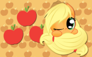 Applejack sphere wp by alicehumansacrifice1-d4nvog1
