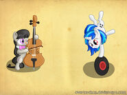 Octavia and vinyl scratch by overlord103-d54anfj