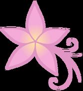 Plumeria cutie mark by rildraw-d4snm13