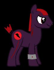Scouter pony base colt version by knuckles1367-d5w4oan