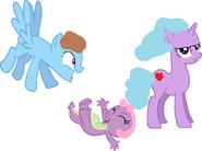 Sparkle Magic,Crash Thunderson and Spika