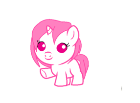 Baby pony base 2 by kimorah-d5knpgf