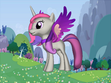 Princess violett sparkle