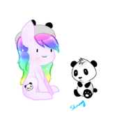 Esha con pandi