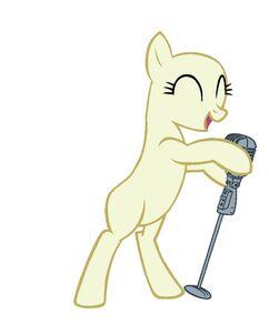 Singing Pony Base