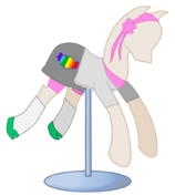 Maniquie para pony
