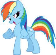 Rainbow dash the best