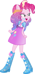Equestria girls pinkie pie rainbowfied by theshadowstone-d79xeak
