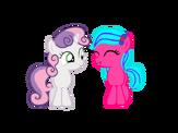 Kura and sweetie belle by emoshyvinyl-d928gw3