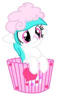 Cotton Heart - cupcake time