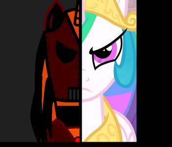 S02E26 Celestia battle face