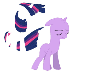 Colors of the wind twilight sparkle 5 by myliladoptables-d5gf236
