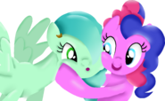 Teddy and pinkie shine