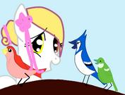 Devony candy rainbow and birds