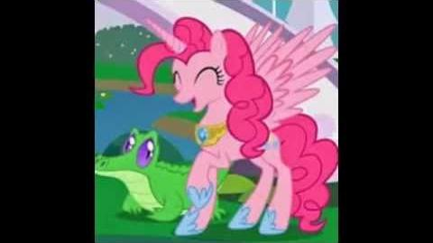 My little pony pinkie pie as a alicorn