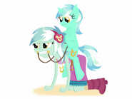 Lyra and lyra colored by lortstreet54-d80iizs