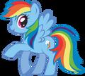409px-Canterlot Castle Rainbow Dash 3.png