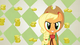 Applejack at the gala by shelltoontv-d3g1o64