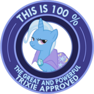 Trixie aproved