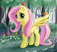Fluttershy belle