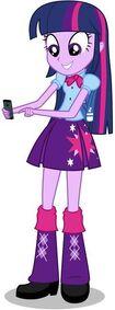 Twilight con celular