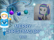 Feliz navidad Beli