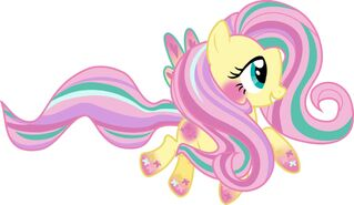 Raibow power fluttershy