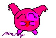 Pinky hecho por mi