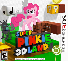 Super pinkie 3d land by nickyv917-d4zod34