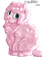 Fluffle puff by mylittlerainbow time-d71i819