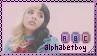Melanie martinez alphabet boy stamp by diiqx-dai3rfc