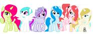 Personajes principales de una serie
