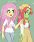 2 amigas ecologistas
