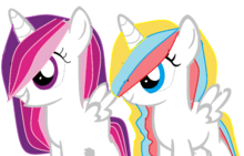 Filly and colt