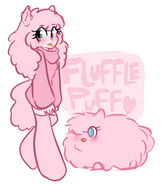 Fluffle puff humanized socks