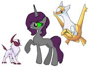 Unicorn New OC and Pokemon